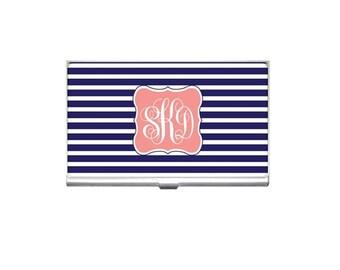 Mongrammed Business Card Holder-You Design