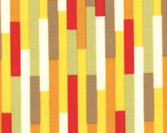 Boho 1 & 1/2 yard Remnant 31094-12 Red Green Orange Yellow Multi
