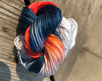 LAST AMOUNT - Embroidery Floss - Oil Country -  Embroidery Thread - Hand Dyed - 6 Strand - Your Choice of Amount - HDT