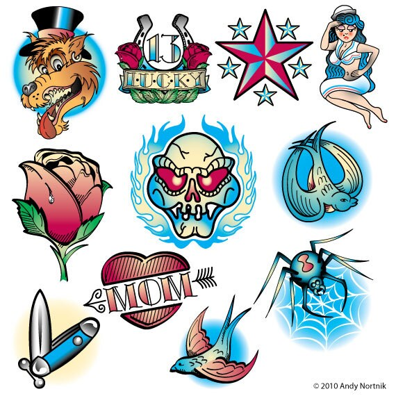 Tattoo Designs Clip Art Clipart Personal Or Commercial Use