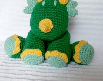 Crochet Dino Stuffed Animal, Crochet Animal, Stuffed Dinosaur , Crochet Stuffed Animal, Dinosaur Nursery, Dinosaur Stuffed Animal