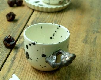 Ceramic Espresso Cup, Tea Cup, Coffee Mug, Pottery Mug, Rustic Pottery, Handmade Mug, Coffee Cup, Porcelain Mug, Unique Cup, Gift For Him