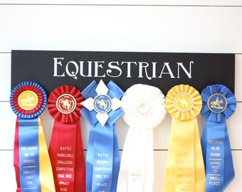 Equestrian Ribbon Holder - Horseback Riding - Horse Show