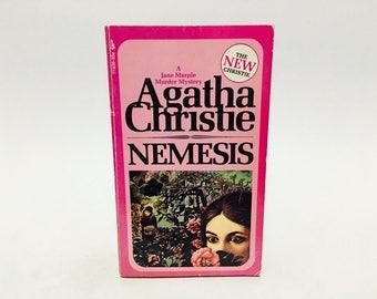 Vintage Mystery Book Nemesis by Agatha Christie 1973 Paperback