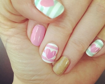 I Love Pastels - Nail Wraps