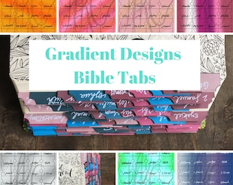 Bible Tabs, Patterns and Textures  | Sticker, Genesis-Revelation + extra