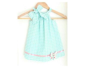 Rabbit Bow Baby Dress, girl dress, baby clothes, bow baby, baby girl dress,  kids clothes, rabbit bow baby dress