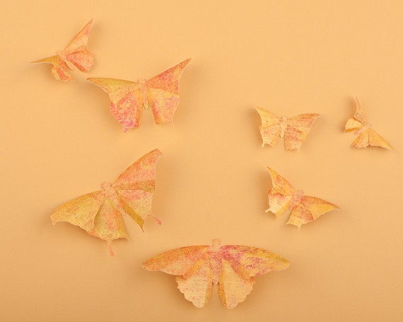 Comfortable 3d Butterfly Wall Art For Nursery Pictures Inspiration ...
