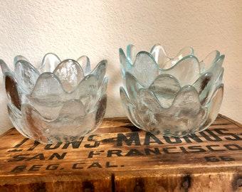 Blenko Flower Bowls - Set of 6 - 6143S