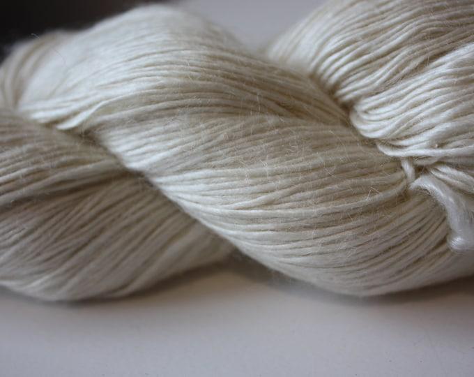 NEW***4/1 nm Mulberry Silk & Wool Blend Yarn