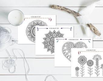 Wedding Adult Coloring Book | Printable Wedding Game | Printable Coloring Pages | Wedding Coloring | Wedding Activities | Wedding Favors