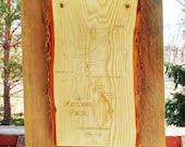 River Map CABIN PLAQUE - ...