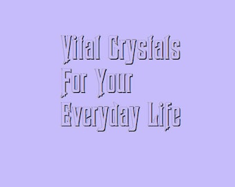 PRE-ORDERS For Crystal Intention Bags!