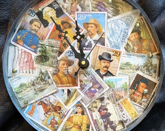 Film Canister Wall Clock -Western
