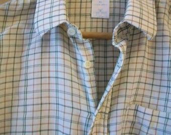 Men's Vintage Check Shirt, Size: XL