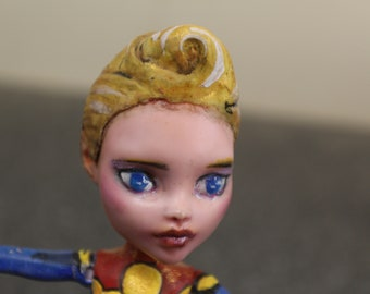 Captain Marvel Monster High Doll