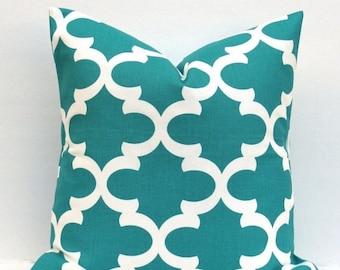 15% Off Sale Decorative Teal pillow - Decorative Jade Pillow - Blue  green Pillow Turquoise  Accent Pillow coverToss pillow cushion cover