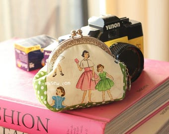 Andrea Coin Purse  PDF Sewing Pattern (#128)