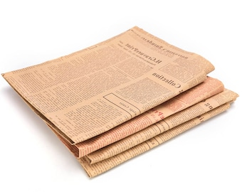 1pcs Vintage Newspaper Wrapping Paper, Gift Wrapping - PJ289