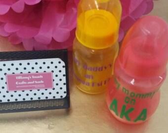 Omega\AKA monogrammed/Personalized baby bottle