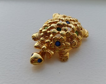 Turtle Brooch by AVON