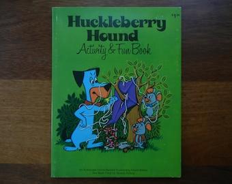 Huckleberry Hound Activity and Fun Book ~ 1976