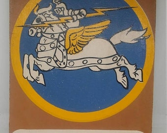 Spring Sale Vintage WW2 70th Fighter Squadron Teaching Aid Display Patch