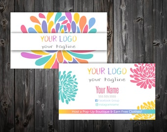 Business Cards - Blossom