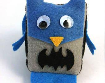 Batman Mini Owl Stuffie Plush Doll