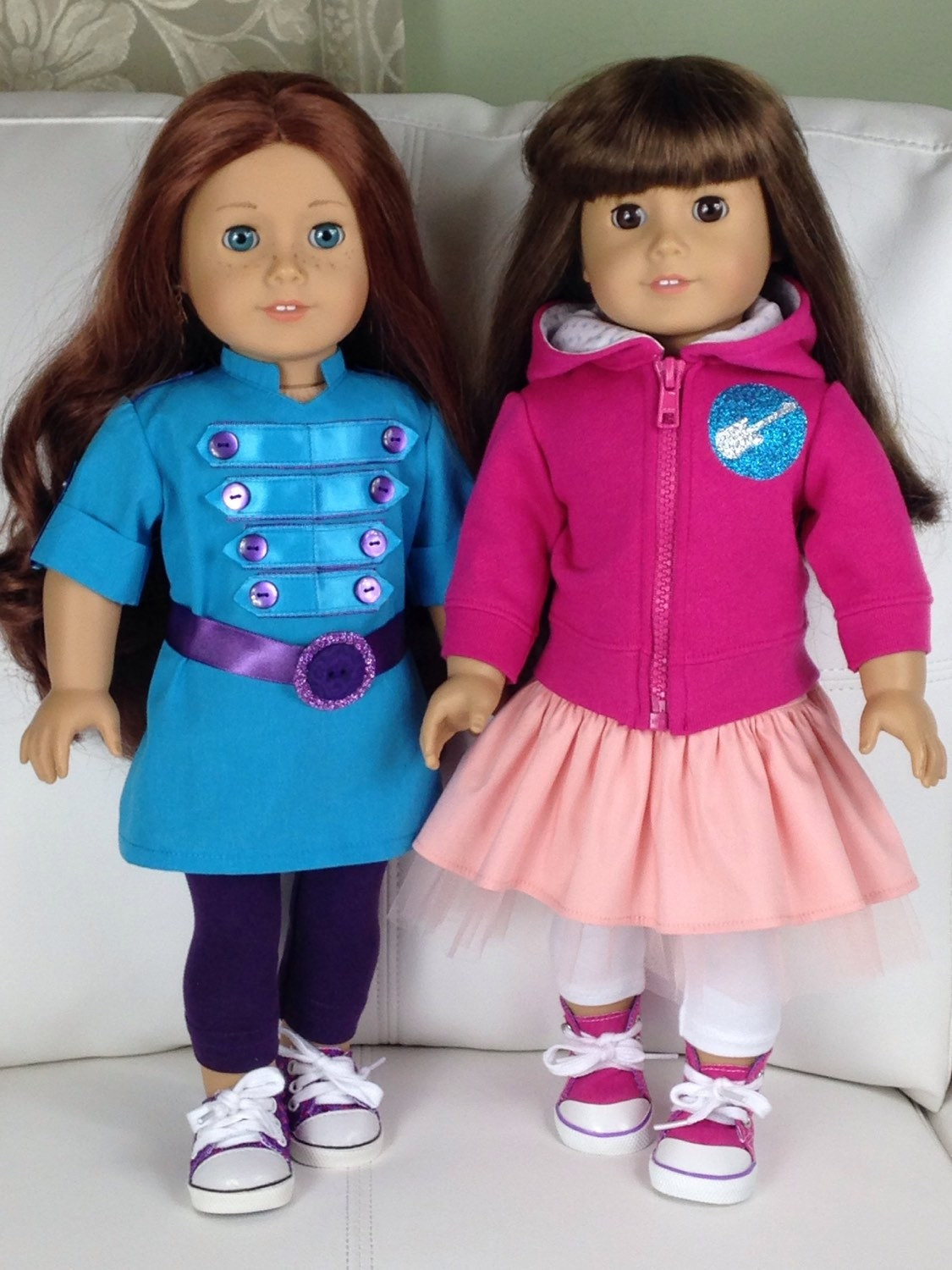 Fresh Beat Band MARINA Outfit for American Girl Dolls 18