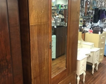 Antique Armoire Wardrobe