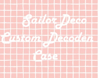 Custom Decoden Case -KPOP, Anime, Fandoms, ANYTHING!-