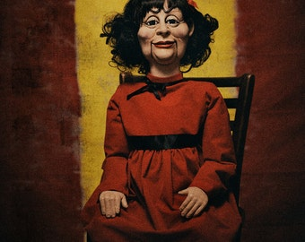 AMERICAN HORROR STORY Marjorie Creepy Puppet Doll Prop ahs