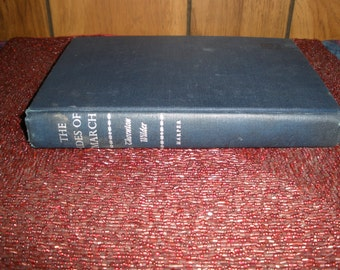 The Ides of March Thornton Wilder Vintage 1st Edition 1948 Harper & Brothers Publishers Books Fiction Reading Entertainment