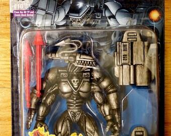 Vintage 1995 UltraForce NM-E Black Action Figure