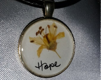 Hope Desert Flower Pendant