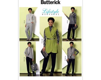 Butterick 6389 Lifestyle Wardrobe Vest, Top, Tunic. Pants   Size  Xsm to Med or Lrg-to-XX1    New-Uncut