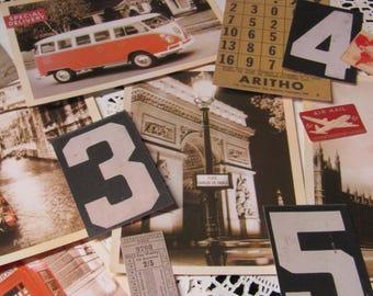 Vintage Ephemera / Souvenir, Vintage Photos / Postcards, Travel Journal/ Smash Book Inspiration, Mixed Media Vintage Stationary,