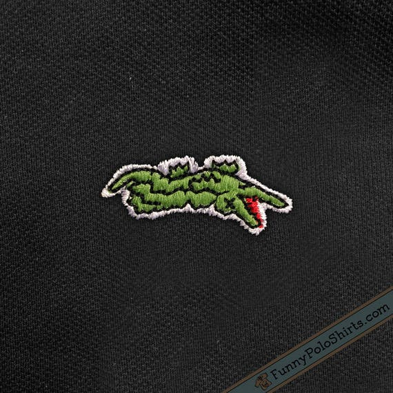 Dead gator lacoste parody funny polo shirt like this item sciox Images