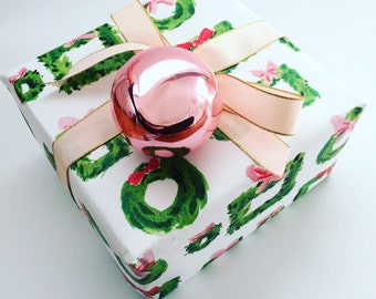 Christmas Wrapping Paper: Deck the Halls