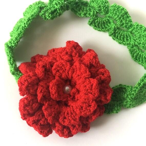 16 Verstellbare Stirnband Baby Blumen Häkeln Stirnband