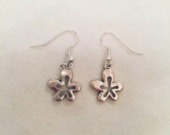 Hippy flower earrings