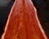 Redwood Slab with 100% Bu...