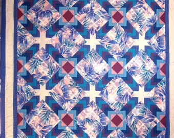 Quilt -- Chevrons and Stars