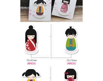 Japanese Doll Post IT Notes Sticky Memo