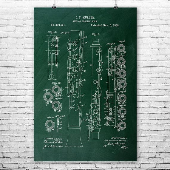 Diagram of the english horn circuit connection diagram oboe english horn poster art print cor anglais musician rh etsy com 66 mustang horn diagram ccuart Choice Image