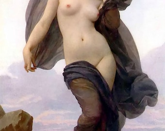 le crepuscule william Adolphe bouguereau oil painting gift write
