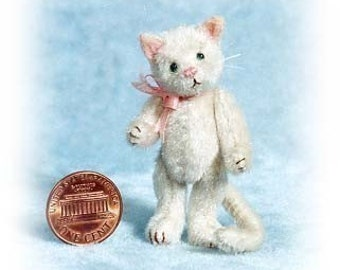 Pussycat - Miniatur Katze Kit - Muster - von Emily Landwirt