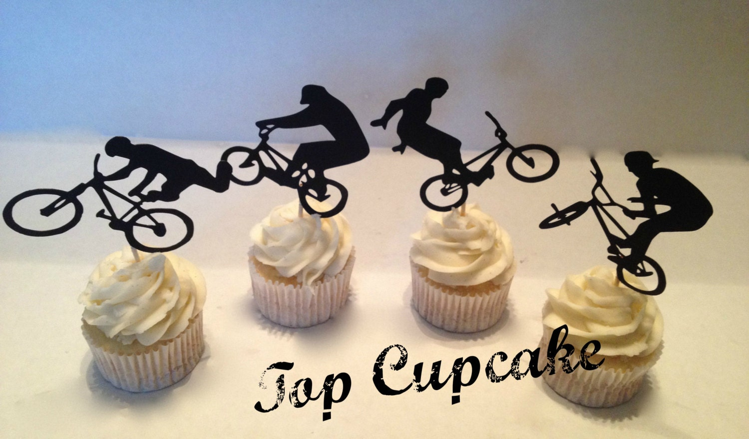 Bicycle Cake Topper Australia
