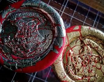 Hogwarts crest badge